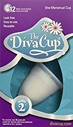 Diva Cup Model 2 Menstrual Cup