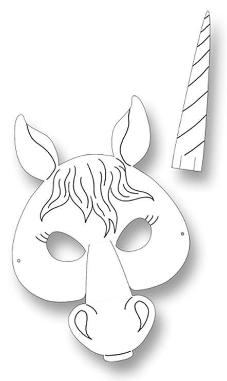 Amazon.com: folia 23203 - Máscaras de unicornio para niños ...
