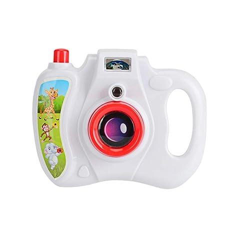 Toyvian Proyección eléctrica Intermitente Juguete para niños Juguetes electrónicos Cámara de proyección Juguete Fotografía Prop Regalo
