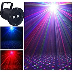 L&T STAR With Remote Control Red Green Blue Projection Outdoor Lights Caoping Deng Christmas Lights Waterproof Projection Lamp