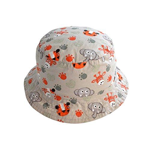 70a97c83571 Amazon.com  COMVIP Baby Kids Cartoon Reversible Sun Protection Fisherman  Bucket Hat  Clothing