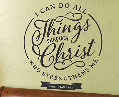Things Through Christ Strengthens Inspirational product image