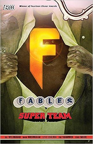 Super Team Fables Vol 16