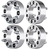 "ECCPP 6x5.5 Spacers 6 LUG 4X 2"" 6x5.5 to 6x5.5 (6x139.7 to 6x139.7) Wheel Spacer Adapters Replacement Fit for Chevy silverado/Cadillac/GMC Trucks SUV Van with 14x1.5 Studs"