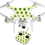 MightySkins Protective Vinyl Skin Decal for DJI Phantom 3 Standard Quadcopter Drone wrap cover sticker skins Lucky You