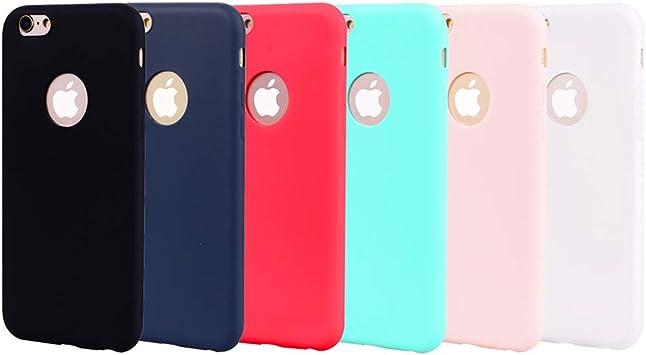 Rojo Verde Para Funda iPhone 6 / Funda iPhone 6 Plus Antigolpes