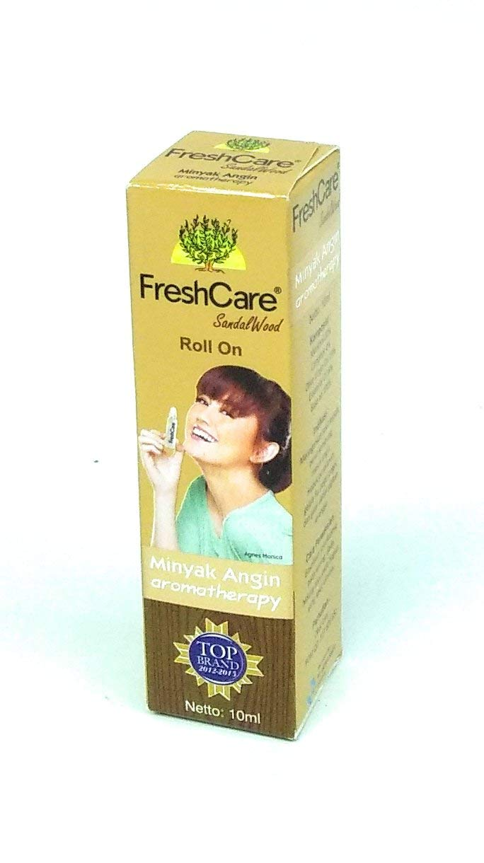 Fresh Care Medicated Oil Aromatherapy - Sandalwood, 10 Ml (Pack of 1)