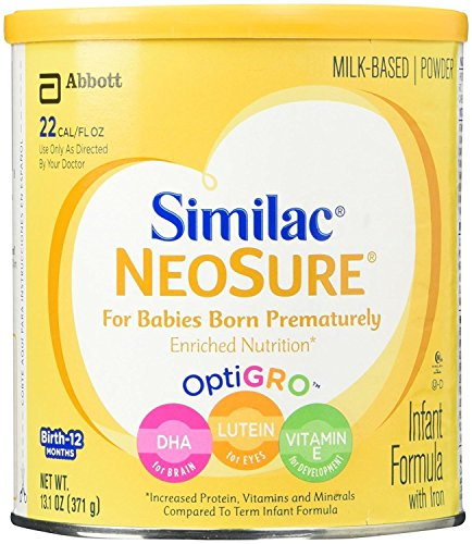Similac Expert Care NeoSure Infant Formula Powder – 13.1 oz, Pack of 2