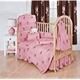 Buckmark 3 Piece Crib Bedding Set