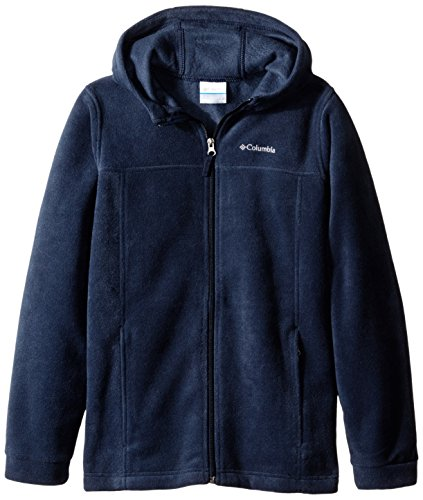 Columbia Big Boys' Steens II Fleece Hoodie, Collegiate Navy, Medium (10/12)