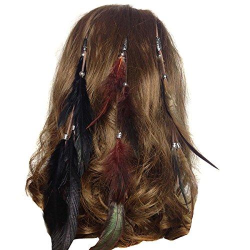 Set of 3 Handmade Boho Hippie Hair Extensions