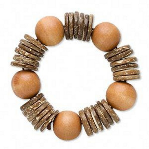 natural-coconut-wood-bead-bracelet-tropical-jewelry-7-1-2-inch-stretchy