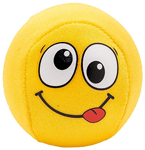 Fun Pool Ball and Beach Toys: Emoji Skip It Bouncy Water Balls for Swimming Sports Games for Kids and Adults. Best Skipping Throw Waterball Toy for Lake, Ocean Surf and Travel. Extreme Summer Fun!