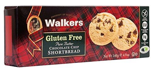 (Walkers Shortbread Gluten-Free Chocolate Chip Shortbread, 4.9 Ounce)