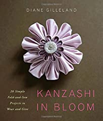 Kanzashi tsumami is the Japanese art of folding delicate squares of silk into three-dimensional flower petals. In the United States, the online craft culture has sprouted a renewed interest in making Kanzashi with American crafters devising s...