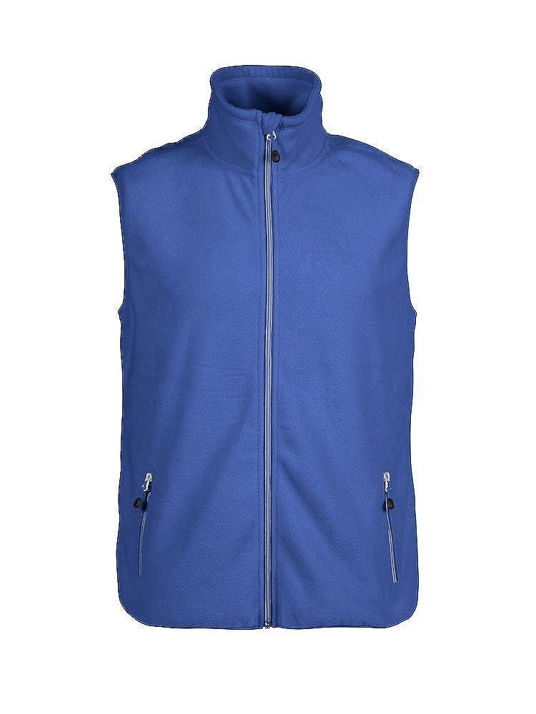 James Harvest - Chaleco de Forro Polar para Hombre, Peso Medio, 280 g/m², S-5XL, 7 Opciones de Color