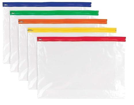 Amazon.com: Tigre 12 x A3 Zippy – Bolsas de plástico fuerte ...