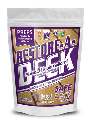 Restore-A-Deck Wood Stain - Cleaner Formula Deck
