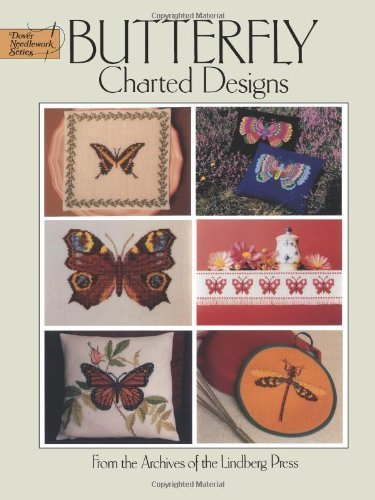 (Butterfly Charted Designs (Dover Embroidery, Needlepoint) by Lindberg Press (2000) Paperback)