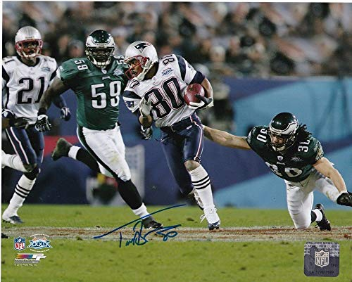 Troy Brown New England Patriots Action Autographed Signed 8x10 ()