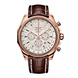 Breitling for Bentley Men's Barnato 18k Red Gold & Croc Chronograph Watch