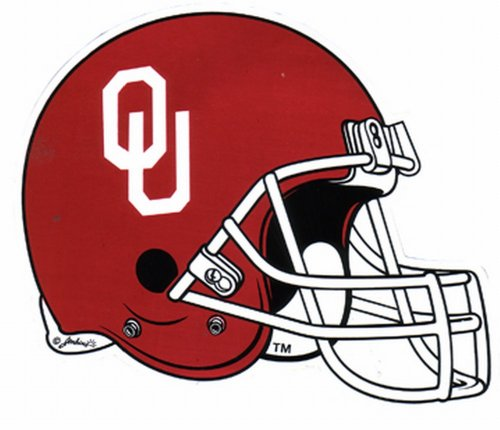 - NCAA Oklahoma Sooners Car Magnet Helmet (Small, 2 Pack)