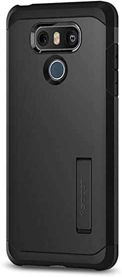 Spigen Funda LG G6, [Tough Armor] Heavy Duty [Black] Protección ...