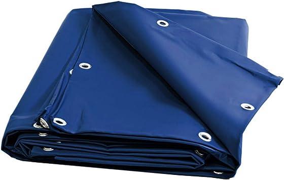 Lienzo para pérgola y cenador 680 G/m² – lona para pérgola y cenador azul 5 x 4 m EN PVC: Amazon.es: Bricolaje y herramientas