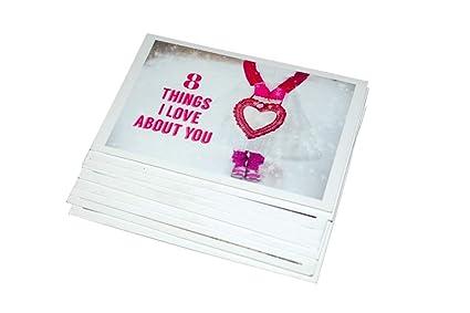 VALENTIINES Greeting Cards For Love Birthday Anniversary Girlfriend Boyfriend Fiance Gifts Girls Men Wife Women Him