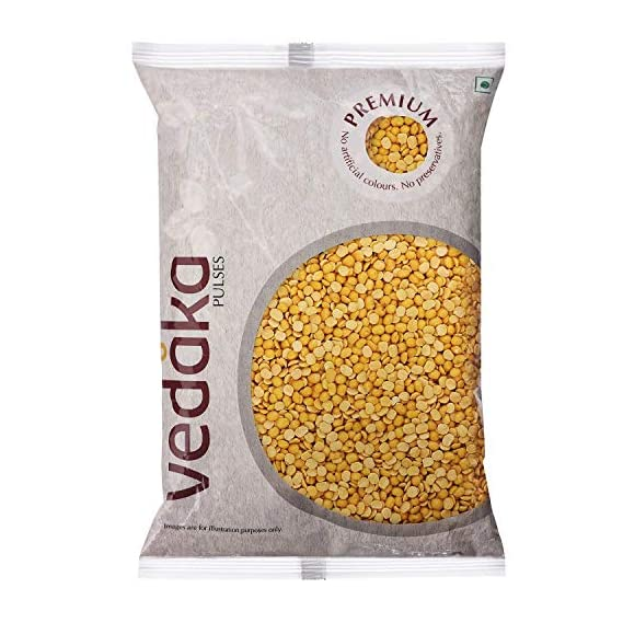 Amazon Brand - Vedaka Premium Toor Dal, 1kg