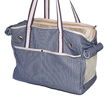 Nautical Stripe Dog Carrier– by Dogo