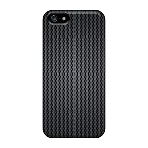 Saraumes Snap On Hard Case Cover Dark Grill Protector For Iphone 5/5s
