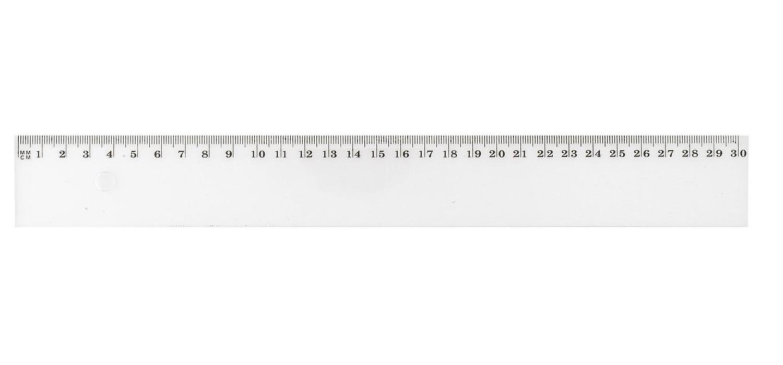 WONDAY TRACAGE PLASTIQUE REGLE PLATE 50 cm