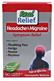 Homeolab USA Real Relief Headache & Migraine Symptom Relief -- 90 Chewable Tablets