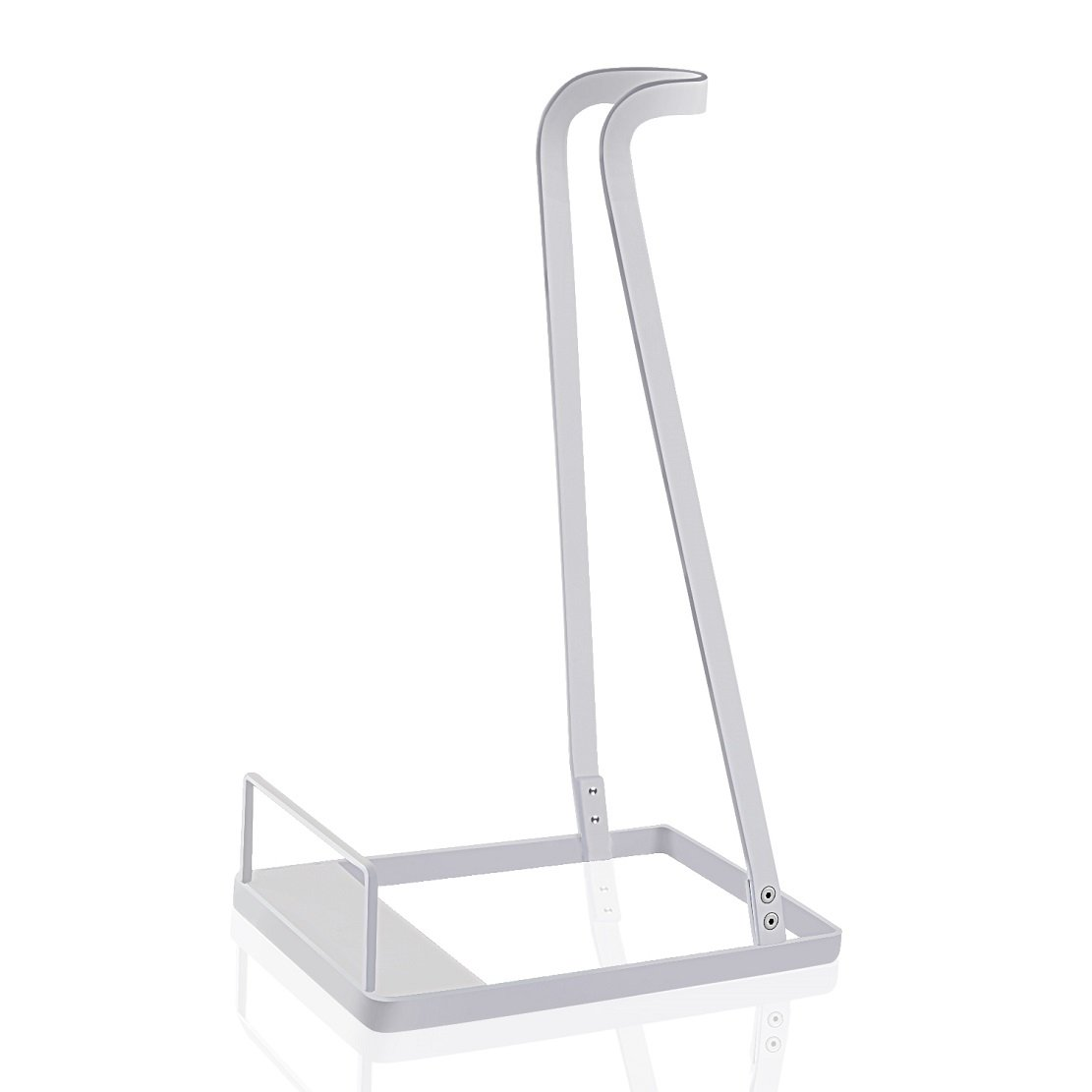 Vacuum Stand for Dyson V6 V7 V8,Other Brands and Generic Stick Cleaner ,Citus Lightweight Storage Rack Steel Support Organizer for Handheld Electric Broom (White, Ideal Gift)