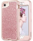Best ULAK Iphone 6 Case Purples - ULAK Sparkly Glitter Case for iPhone 8, iPhone Review
