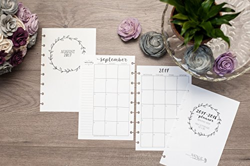 2017-2018-monthly-calendar-for-disc-bound-planners-fits-circa-junior-arc-by-staples-half-letter-size