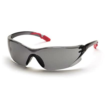 b96f7b85c8 Image Unavailable. Image not available for. Color  LADIES PINK Pyramex SCRATCH  RESISTANT Achieva Safety Glasses - Gray Frame ...