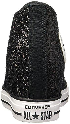 5 Scarpe Lux Converse Sportive Glitterate Star Converse All Donna 37 Mid Black Zeppa pRH8H7A