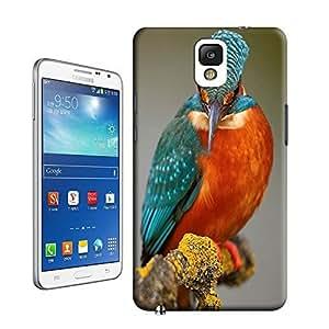 Modern Creative Design Drippy bird Watercolor Hard Platic Case Cover For Samsung galaxy Note 3
