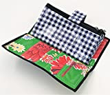Cute Green Oilcloth Envelope System Wallet for Cash Budgeting and Extreme Couponing