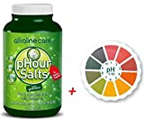 alkalizing salts - Combo Pack (Phour Salts In Capsules - AlkalineCare Helps body's remineralization, helping your muscles, bones and joints stay youthful. Alkaline Care + 5M PH Paper Roll High Precison)