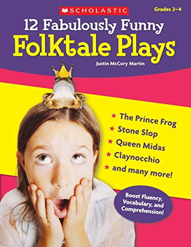 - 12 Fabulously Funny Folktale Plays: Boost Fluency, Vocabulary, and Comprehension!