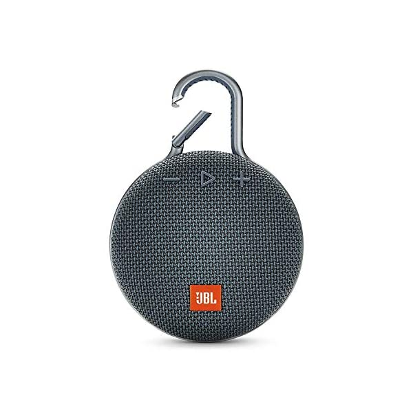 JBL Clip 3 - enceinte Bluetooth Portable avec Mousqueton - Étanchéité Ipx7 - Autonomie 10hrs - Qualité Audio JBL - Bleu 1
