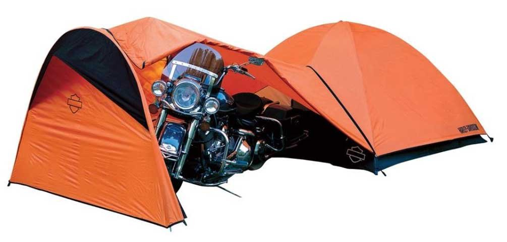 Amazon.com  Harley-Davidson Rideru0027s 4-Person Motorcycle Dome Tent  Family Tents  Sports u0026 Outdoors  sc 1 st  Amazon.com : harley tent - memphite.com