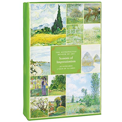 The Metropolitan Museum of Art Boxed Note Cards, Seasons Of Impressionism (MN22619)