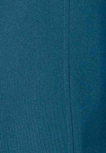Forro Piel Chaqueta Azul Mujer De Con 107 Centímetros gwwqtO5