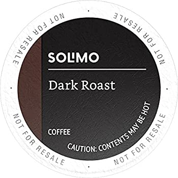 100-Count Amazon Brand Solimo Dark Roast K-Cup Pods