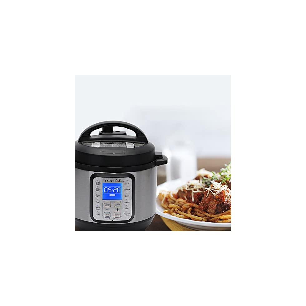 Instant Pot DUO Plus 9-in-1 Multi- Use Programmable Pressure Cooker, Slow Cooker, Rice Cooker ...
