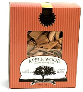 Charcoal Companion Apple Wood Gourmet Smoking Chips